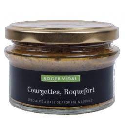 Terrine courgettes / Roquefort 140 gr, maison Vidal