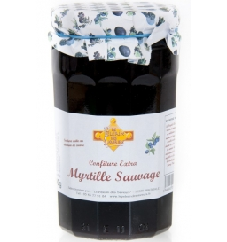 Confiture de myrtille sauvage 750 gr
