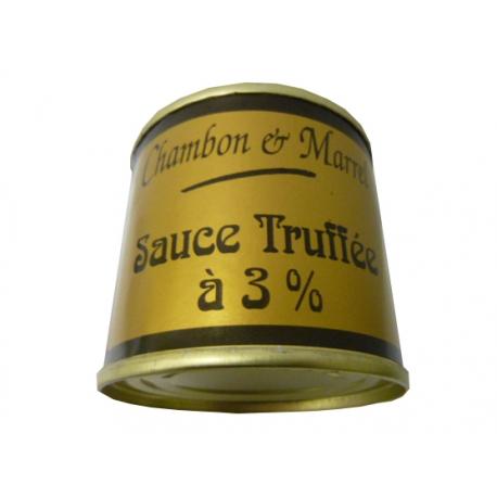 Sauce truffée à 3%, 100 gr