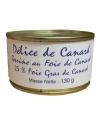 Terrine au foie de Canard 130 gr, 25% foie gras de canard