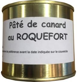 Paté de canard au Roquefort 190 gr, Céline Jeanjean