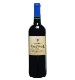 """Vin rouge """"Seigneurs de Peyreviel"""" côtes de Millau 70 cl"""