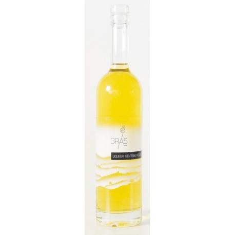 Liqueur de gentiane et régisse, apéritif Bras