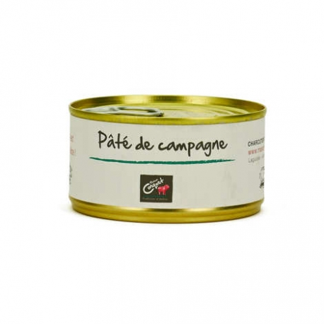 Paté de foie pur porc 220 gr, maison Conquet
