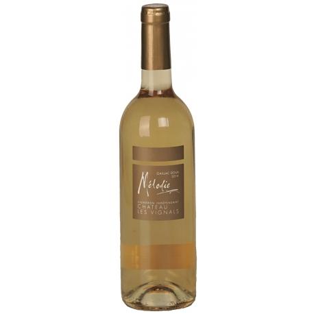 Vin blanc doux, Mélodie, chateau les vignals, Gaillac 70 cl
