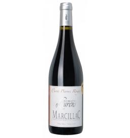 """Vin rouge """"Pierre rouge"""", domaine Laurens, Marcillac 70 cl"""