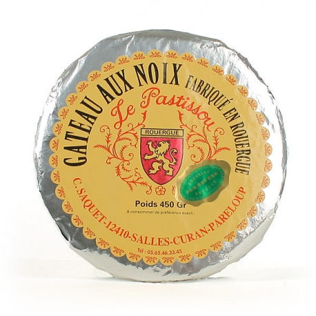 """Gâteaux aux noix """"Le patissou"""" 450 gr"""
