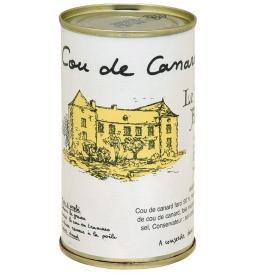 Cou de canard farci 15% foie gras 400 gr, manoir d'Alexandre