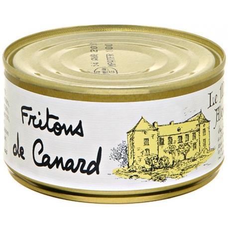friton de canard 190 gr, manoir d'Alexandre