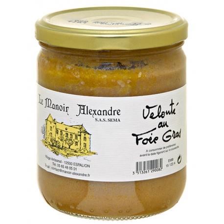 Velouté au foie gras 380 gr, manoir d'Alexandre
