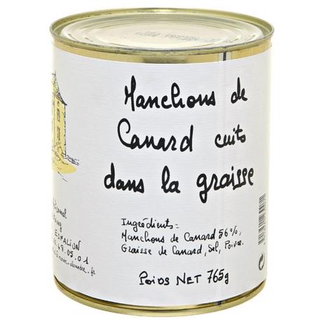 Manchons de canard 765 gr, Manoir d'Alexandre