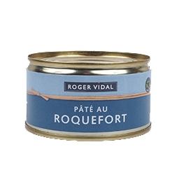 Pâté au roquefort 125 gr, maison vidal