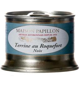 terrine de porc noix et roquefort, maison Papillon
